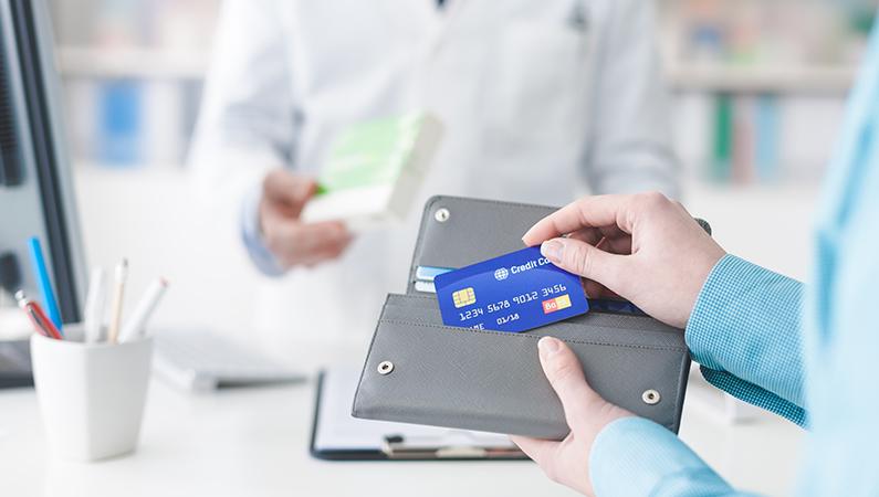 Betaling for medicin